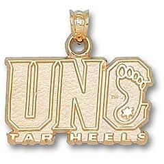 University of North Carolina UNC Tar Heels - 14K Gold by Logo Art