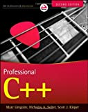 img - for Professional C++ (Wrox Professional Guides) by Gregoire, Marc, Solter, Nicholas A., Kleper, Scott J. (2011) Paperback book / textbook / text book