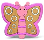 Childrens Pine Wooden Butterfly Kids...