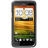 Amzer Luxe Argyle High Gloss TPU Soft Gel Skin Case for HTC One X - Smoke Grey