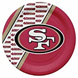 NFL San Francisco 49Ers Disposable Paper Plate (20-Pack)
