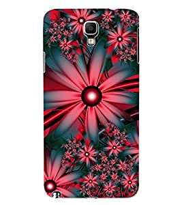 ColourCraft Flowers Design Back Case Cover for SAMSUNG GALAXY NOTE 3 NEO N7505