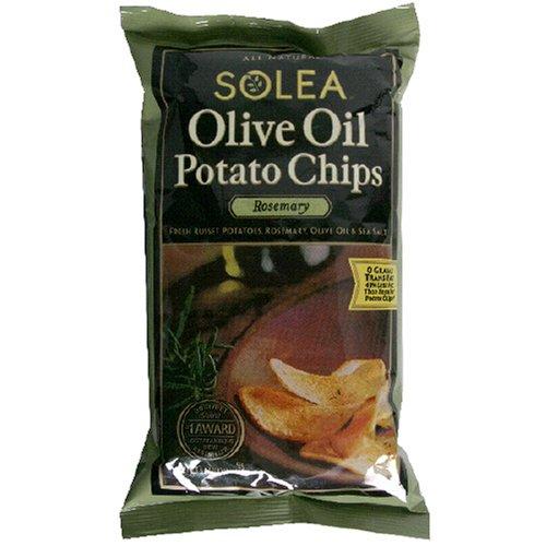 Good Health: Good Health Olive Oil Potato Chips Garlic
