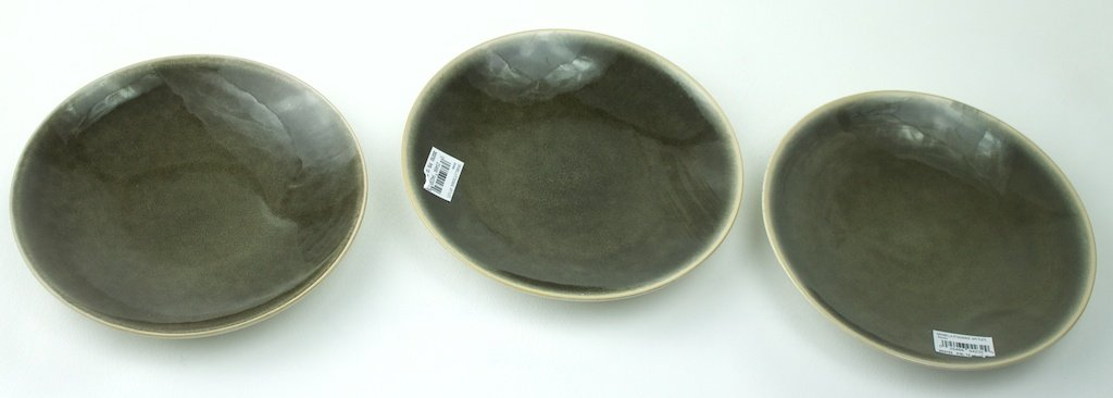 Appetizer Plates Sabella Stoneware Set of 3 tag Smoke anupam khanna effect of thermal gradient on vibrations of tapered plates