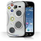 Coque de Stuff4 / Coque pour Samsung Galaxy Trend Lite/S7390 / Blanc Xbox 360 Design / Console (jeux vidéo) Collection