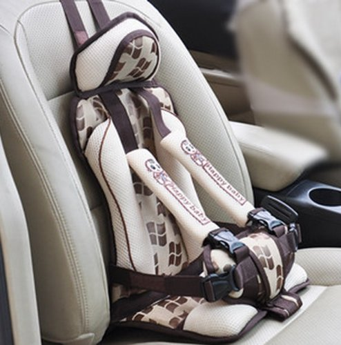 [CommerceBaby] ★ Japan Edition ★ light weight / compact! Simple child safety seat after approximately 8 months to 8 years with Japan language packages and instructions, warranty available in 3 colors (coffee)