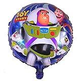 Lote de 10globos Helium Buzz Toy Story