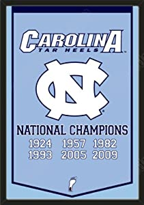 Dynasty Banner Of North Carolina Tar Heels-Framed Awesome & Beautiful-Must For A... by Art and More, Davenport, IA