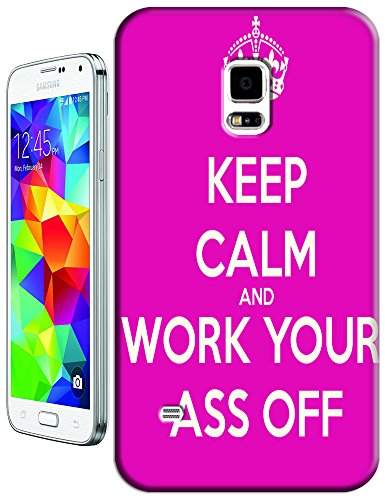 Keep Calm And Colorful Fashion Flag Cell Phone Cases For Samsung Galaxy S5 I9600 No.8 front-385246