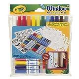 Crayola Window Marker/Stencil Art Set