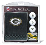 NFL Green Bay Packers Embroidered Golf Towel (3 Golf Balls/12 Tee Gift Set)
