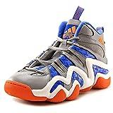 Adidas Crazy 8 Men US 8.5 Gray Basketball Shoe