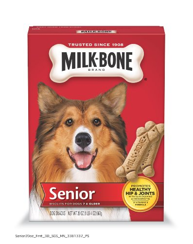Milk Bone Senior Biscuits for Dogs, 20-Ounce