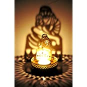 Hashcart Shadow Sai Baba Tea Light Candle Holder For Home Décor