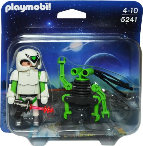 PLAYMOBIL Duo Pack Space Man with Spy Robot Playset (Playmobil Robot compare prices)