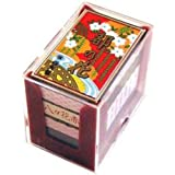Nintendo Japanese Playing Cards Game Set Hanafuda Miyako no Hana RED