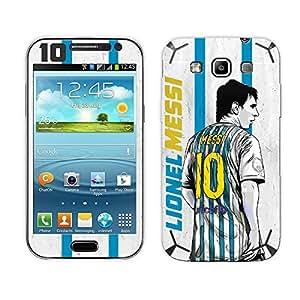 Bluegape Samsung Galaxy Grand Quattro i8552 Lionel Messi 'The Legend' Football Player Phone Skin Cover, Multicolor