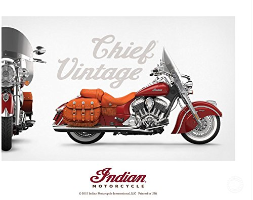 Indian Motorcycle Vintage Chief Poster 0