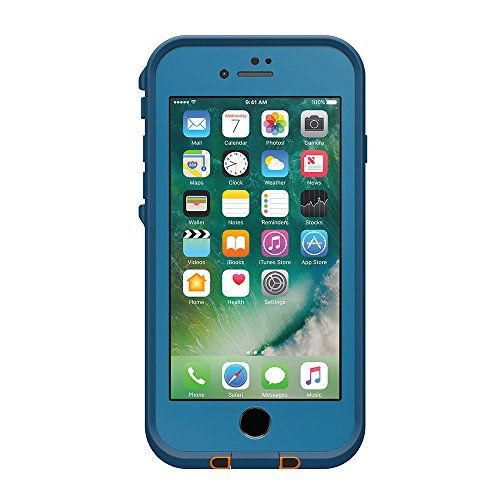 日本正規代理店品・iPhone本体保証付LIFEPROOF 防水 防塵 耐衝撃ケース fre for iPhone7 Base Camp Blue 77-53990