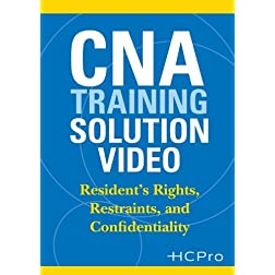 CNA Training Solution Video: Resident's Rights, Restraints, and Confidentiality