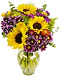 Flowering Fields Bouquet, With Vase
