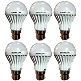 Cool White LED Bulb 3W (Pack Of 6)