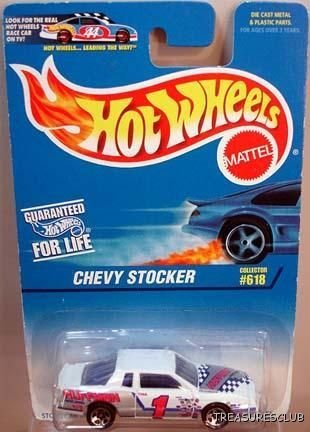 HOT WHEELS CHEVY STOCKER #18555 C#618 1996