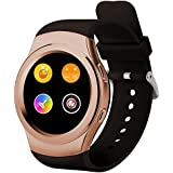 PowerLead Pwah PL-G3 All Round Screen Touch-screen Smart Bluebooth Watches With Heart Rate And Step Down Function...
