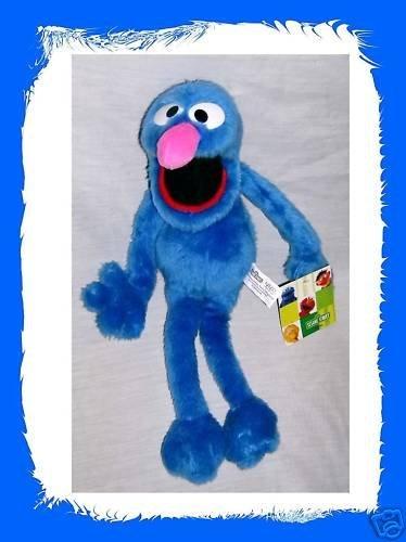 """Sesame Street Grover Plush 17"""" - 1"""