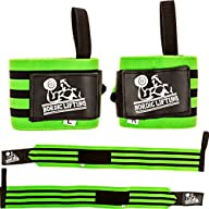 Wrist Wraps Super Heavy Duty (1 Pair/2 Wraps) 24″ for Weight Lifting | Powerlifting | Strongman |…