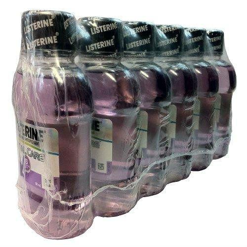 リステリン 6in1 トータルケア 携帯に便利な80ml 6本セット