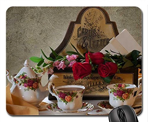 red-roses-for-tea-time-mouse-pad-mousepad-flowers-mouse-pad