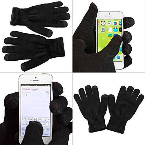 iProtect Premium Touchscreen Handschuhe - für Geräte wie...