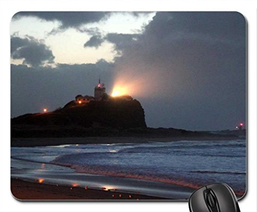 wenzel-kerzen-nightlights-nobbys-lighthouse-mouse-pad-souris-beaches-mouse-pad