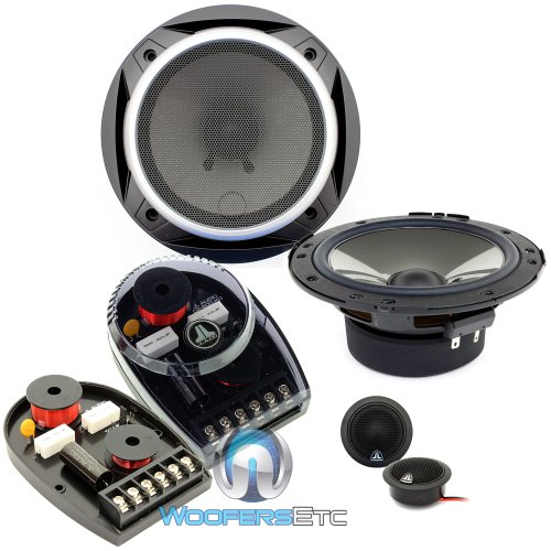 """Pair Of Brand New Jl Audio C2-600 6"""" Component Speakers With Adjustable Crossovers"""