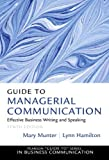 img - for Guide to Managerial Communication (10th Edition) by Mary Munter (2013-01-18) book / textbook / text book