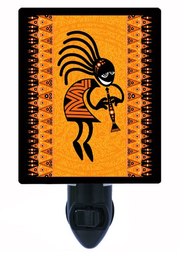 Night Light - Dancing Figure - Ethnic Led Night Light front-1018094