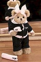 Zoe Zen Plush Yoga Teddy Bear from Bearington Collection