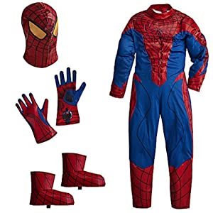 Disney Deluxe Amazing Spiderman Spider Man Costume for Boys Toddlers