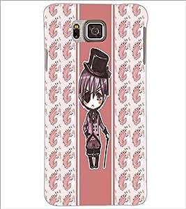 PrintDhaba Cartoon D-3359 Back Case Cover for SAMSUNG GALAXY ALPHA (Multi-Coloured)