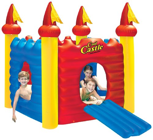Swimline Cool Castle Inflatable Playhouse And Pool front-887555
