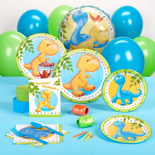 Little Dino Standard Party Pack for 8 Party Supplies