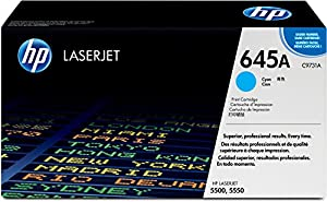 HP 645A Cyan LaserJet Toner Cartridge