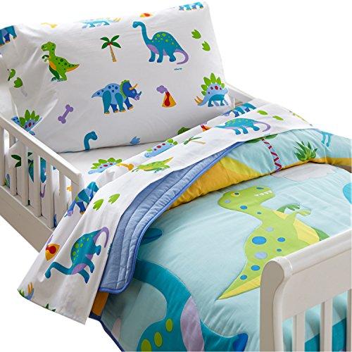 dinosaur toddler bedding set