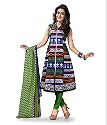 Kesar Printted Cotton (Unstitched) dress material (SA1020)
