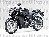 Gloss Black Complete Injection Fairing for 2011 2013 Honda CBR250RR CBR 250 RR