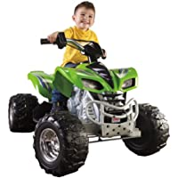 Fisher-Price Power Wheels Kawasaki KFX 12-Volt Battery-Powered Ride-On