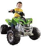 Fisher-Price Power Wheels Kawasaki KFX - Green & Chrome