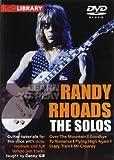 echange, troc Randy  Rhoads - Learn To Play Randy Rhoads - The Solos