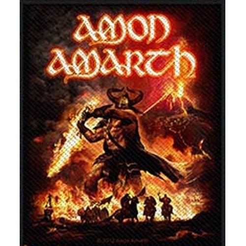 Amon Amarth - Patch Surtur Rising (in 9 cm x 9 cm)